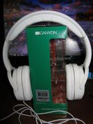 "Наушники CANYON CNR-HP03NB ""Headphones color: black Impedance: 32 Ohm Frequency Response: 20Hz-20kHz"